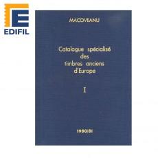 Catálogo Especializado de sellos clásicos de Europa. Tomo I (A-G). Edición 1980/81 PETRE MACOVENAU