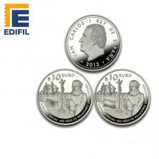 400 años relación Japon-España. Moneda 10€ plata