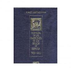 Álvaro Martínez Pinna.Manual de las emisiones de los sellos de España. Años 1939-1950. Volumen III