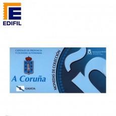 Capitales de provincia Serie 2ª. A Coruña 5 euros plata