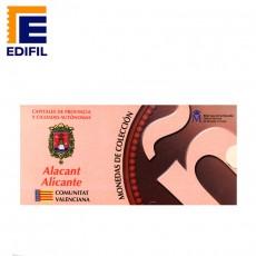 Capitales provincia Serie 1ª Alicante 5 euros plata