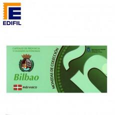 Capitales de provincia Serie 2ª. Bilbao 5 euros plata
