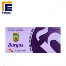 Capitales de provincia Serie 3ª. Burgos 2€ plata