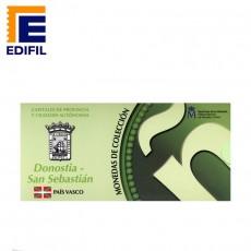 Capitales de provincia Serie 3ª. San Sebastián 5€ plata