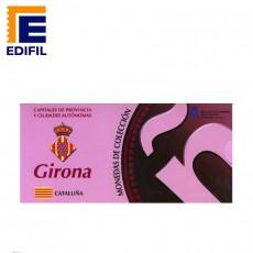 Capitales de provincia Serie 3ª. Girona 5€ plata