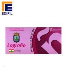 Capitales de provincia Serie 2ª. Logroño 5 euros plata