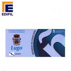 Capitales de provincia Serie 3ª. Lugo 5€ plata