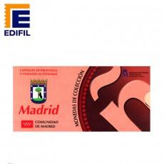 Capitales provincia Serie 1ª Madrid 5 euros plata