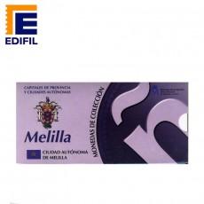 Capitales provincia Serie 1ª Melilla 5 euros plata
