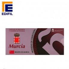 Capitales de provincia Serie 2ª. Murcia 5 euros plata