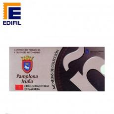 Capitales provincia Serie 1ª Pamplona 5 euros plata
