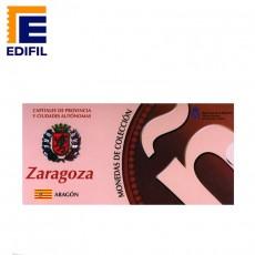 Capitales de provincia Serie 3ª. Zaragoza 5€ plata