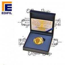 XI Serie Europa Moneda 4 Escudos Oro Falla