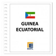 Guinea Ecuatorial EDIFIL 2000/2004 Juego hojas ilustrado. Color