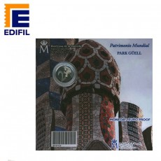 2 Euros Proof Serie Patrimonio Mundial de la Unesco: Park Güell Gaudí