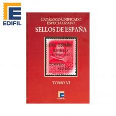 ESPAÑA. Tomo VI (Patrióticos-Guerra Civil-Primeros vuelos). Edición 2011