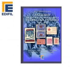 SELLOS LOCALES GUERRA CIVIL española Tomo VI (1936-1939) Asturias-Vascongadas-Navarra-Aragón-Canarias-África. Julio Allepuz