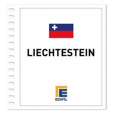 Liechtenstein Suplemento 2014 ilustrado. Color