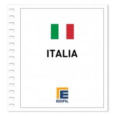 Italia 2001/2005. Juego hojas ilustrado color