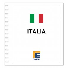 Italia 2006/2010. Juego hojas ilustrado color