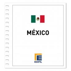 México 2006/2010 Juego hojas ilustrado. Color