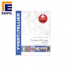 Catálogo Yvert Timbres de Europa Volumen 5 de San Marino a Yugoslavia