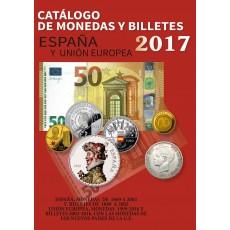 MONEDAS Y BILLETES DE ESPAÑA. Ed 2017