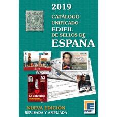 Catálogo Unificado EDIFIL de Sellos de España 2019