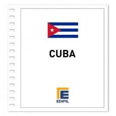 Cuba Hojas Formato Especial 1959/2000 ilustrado. Color