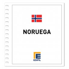 Noruega 2011/2015 Juego hojas ilustrado. Color