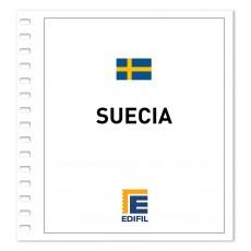 Suecia 2011/2015 Juego hojas ilustrado. Color