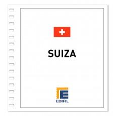 Suiza 2011/2015 Juego hojas ilustrado. Color