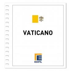 Vaticano 2011/2015 Juego hojas ilustrado. Color