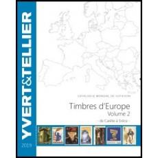 Yvert Gran Europa Volumen 2. Carelia a Grecia