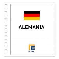 Alemania Suplemento Carnés 2018 ilustrado. Color