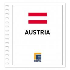 Austria Suplemento 2018 Carnés ilustrado. Color