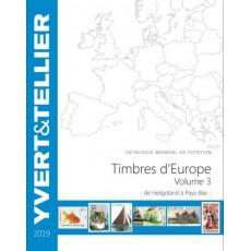 Yvert Europa Vol. 3 Ed. 2019