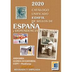 Catálogo de Sellos de España y Dependencias Postales 2020