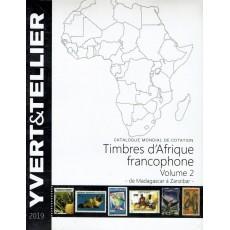 Yvert África francófona Vol. 2 M-Z