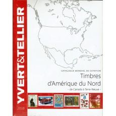 Yvert América del Norte Ed. 2018