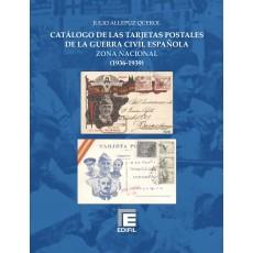 Catálogo de las Tarjetas Postales de la Guerra Civil Española. Zona Nacional (1936-1939)