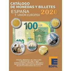 MONEDAS Y BILLETES DE ESPAÑA Y UNIÓN EUROPEA. Ed 2020