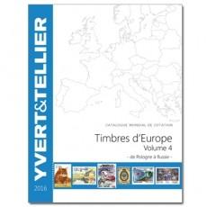 Yvert Europa Vol. 4 Ed. 2020