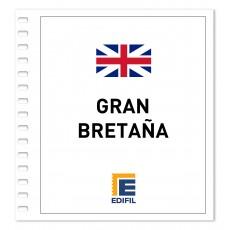 Gran Bretaña Suplemento 2012 carnés ilustrado. Color