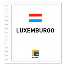 Luxemburgo Suplemento 2018 ilustrado. Color