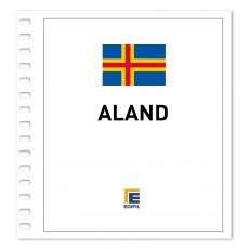Aland 2001/2005 Juego hojas ilustrado. Color