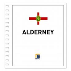 Alderney 1983/2000 Juego hojas ilustrado