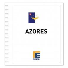 Azores 1980/1990 Juego hojas ilustrado
