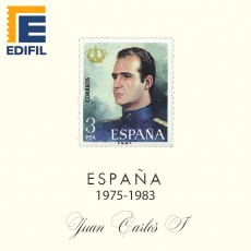 Hojas EDIFIL España Juan Carlos I (1975-1983)