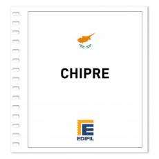 Chipre 1970/1980. Juego hojas ilustrado